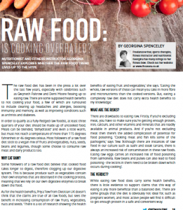Raw Diet PT Magazine Nov 14