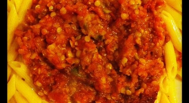Lentil and Bolognaise Love
