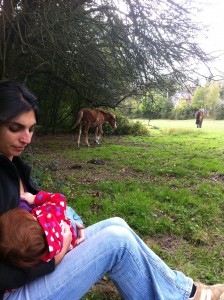 Breastfeeding in the New Forest
