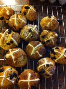 Wheat Free, Gluten Free Hot Cross Buns