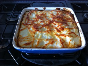 Dietitian UK: the cooked lasagne