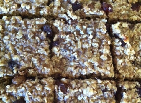Dietitian UK: Banana Flapjack