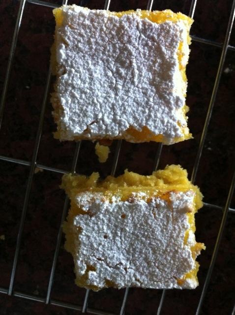 Dietitian UK: Lemon Squares