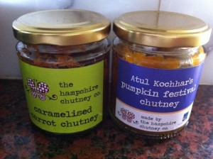 Dietitian UK: Hampshire Chutney Company chutneys.