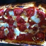 Dietitian UK: Tomato, Pesto, Mozzerella Tart