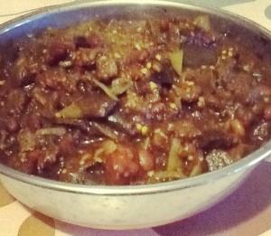 Dietitian UK: Aubergine Curry