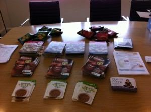 Dietitian UK: Leaflets and freebies for Staff