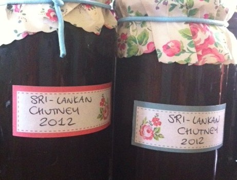 Dietitian UK: Sri-Lankan Plum Chutney