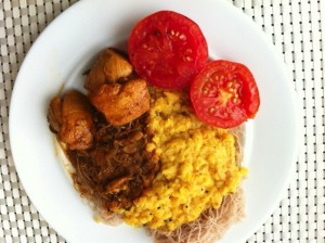 Dietitian UK: Sri-Lanka rice and curry breakfast