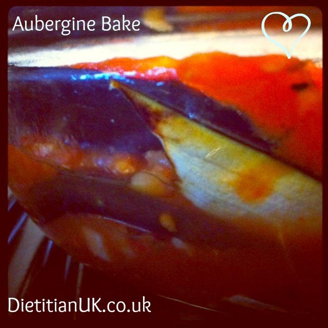 Aubergine Bake for an Aubergine Addict.