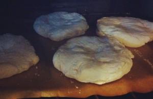 Dietitian UK: Gluten Free Pitta's bake in the oven.