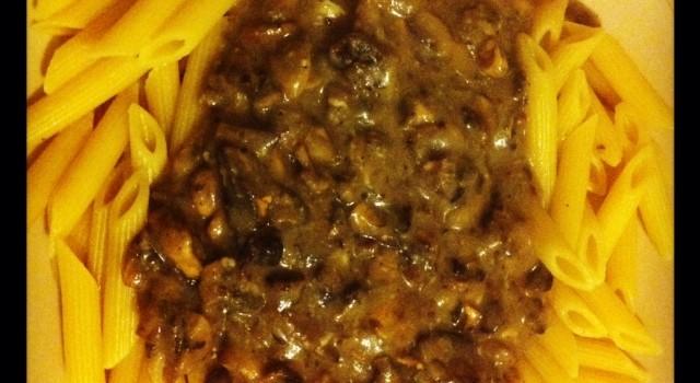Dietitian UK: Mushroom Pasta Sauce