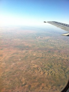 Dietitian UK: Flying into Marrakech