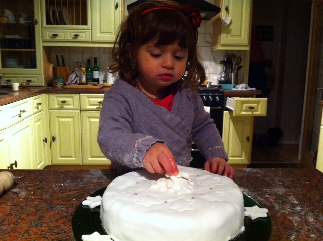 C is for Cake, Christmas and Calm.