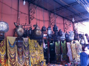 Dietitian UK: Marrakech Lanterns of beauty