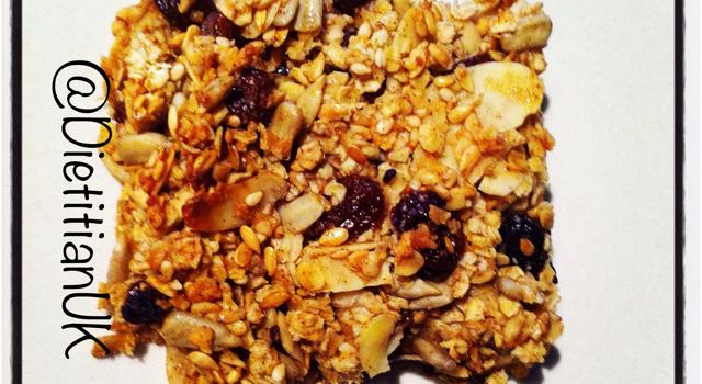 Dietitian UK: Breakfast Bars