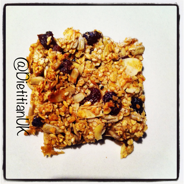 Homemade Healthy Breakfast Bars (gluten free, wheat free).
