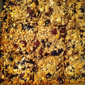 Dietitian UK: Baking Breakfast Bars