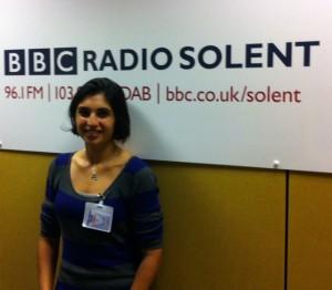 Dietitian UK: At the BBC Southampton Studios