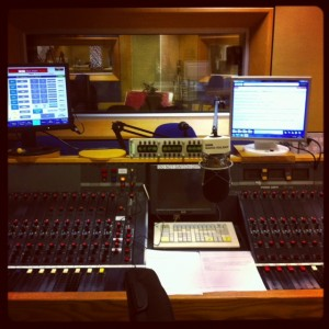 Dietitian UK: BBC Radio Solent Recording Studio