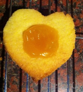 Lemon curd gluten free biscuits