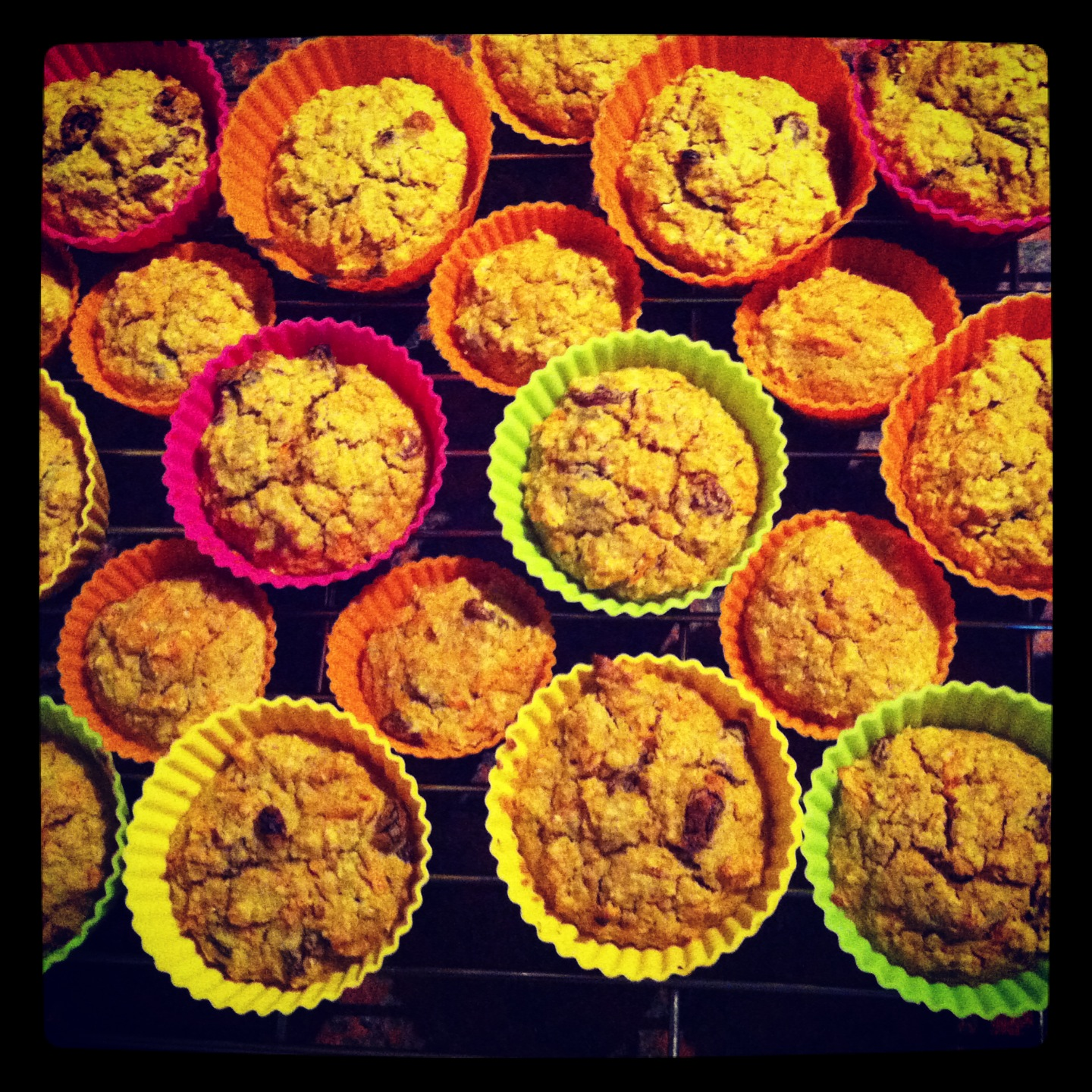 Carrot Oatmeal Muffins. Gluten Free, great for little ones.