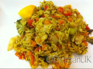 Dietitian UK: Paella