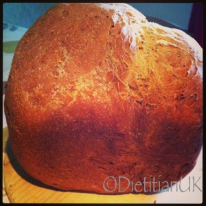 Dietitian UK: Homemade Bread