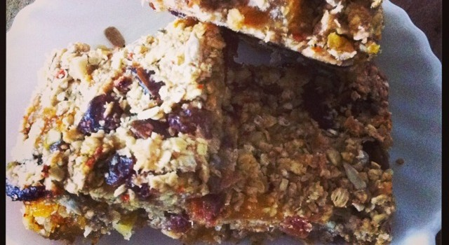 Sunshine Bars, super healthy goodness in a bar.