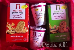 Dietitian UK: Nairns Biscuits Breaks and Porridge Pots