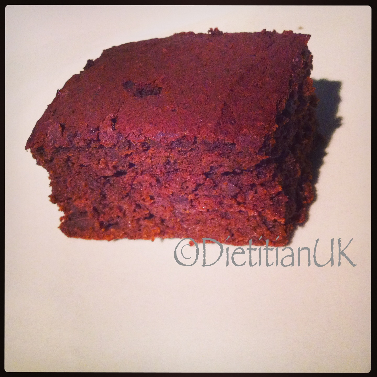 Gluten Free Healthier Chocolate and Beetroot Brownies.