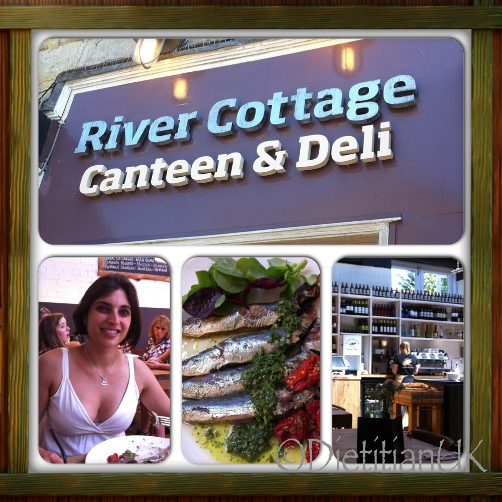 River Cottage Canteen, Axminster, Amazing.