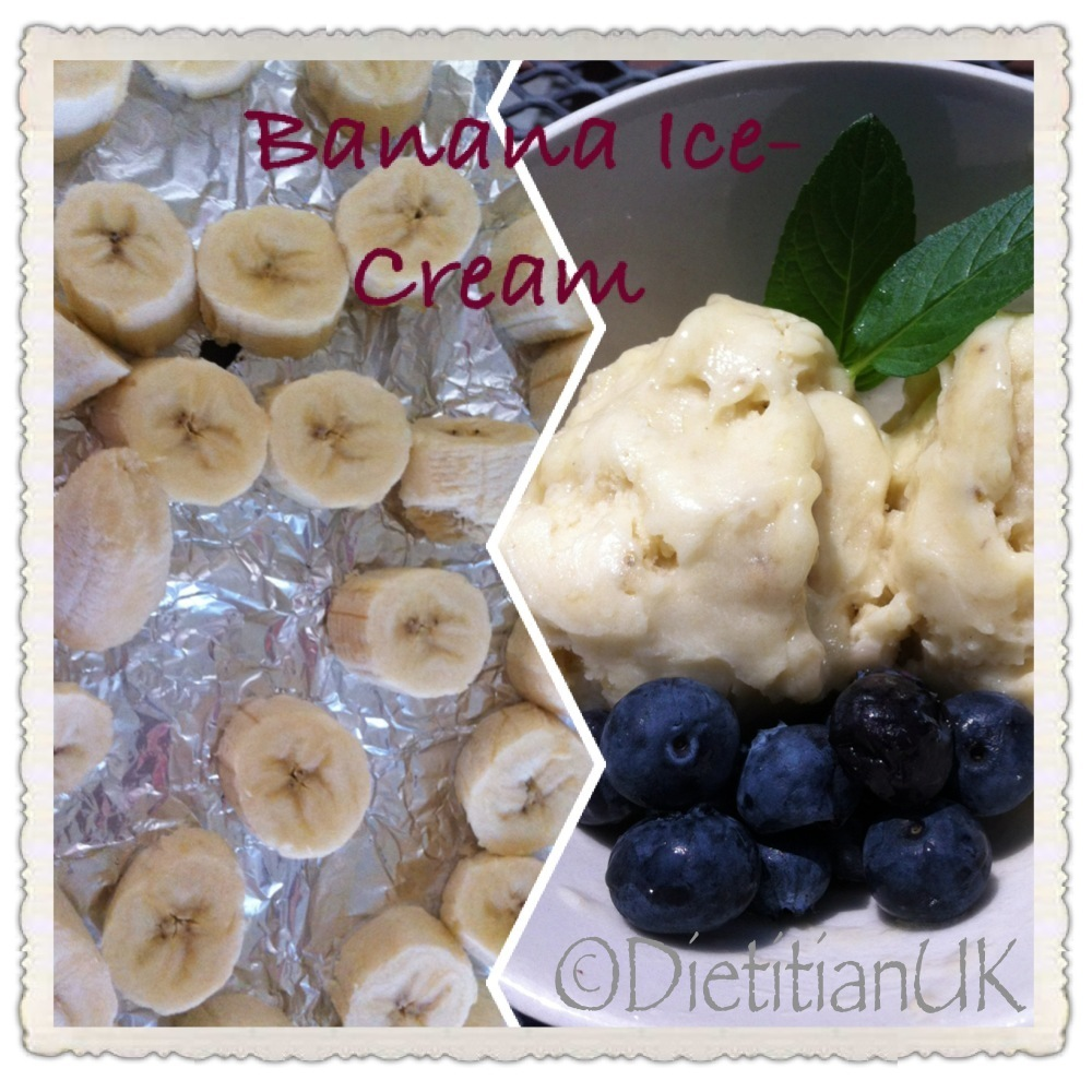 "Dietitian UK: Health Banana ""Ice-Cream"""