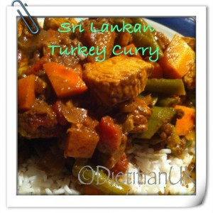 Dietitian UK: Sri-Lankan Style Turkey Curry
