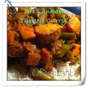 Dietitian UK: Sri-Lankan Style Turkey Curry