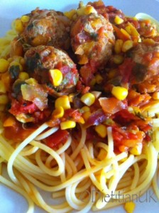 Dietitian UK: Low fat, gluten free, Turkey Meatballs