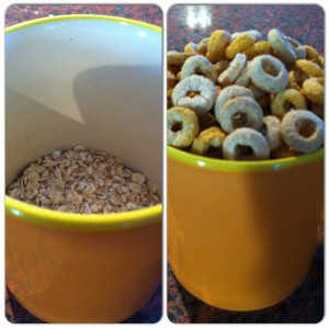 Dietitian UK: Oats and Cheerios Portion Sizes
