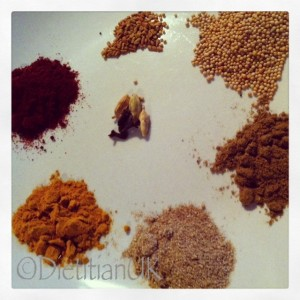 Dietitian UK: My favourite curry spices