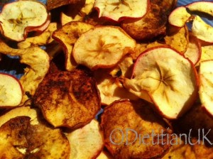 Dietitian UK: Apple Crisps