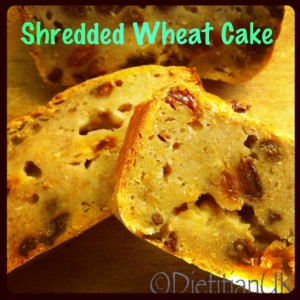 Dietitian UK: Shredded Wheat Cake
