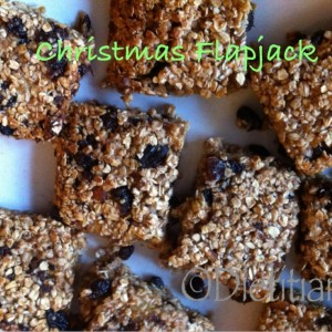 Dietitian UK: Christmas Flapjack