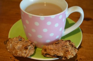 Dietitian UK: Healthy Fruity Oaty Cookies