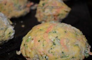 Dietitian UK: Veggies patties ready to bake