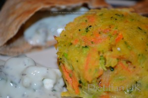 Vegetable Patties (gluten free)
