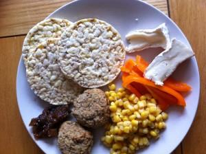 """Dietitian UK"""" mezze lunch"""