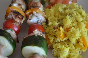 Dietitian UK: Fish Kebab 2