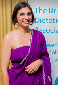 Dietitian UK: Priya Tew at the British Dietetic Association Awards 2014