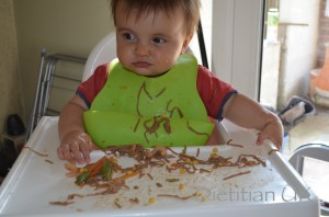 Dietitian UK: Baby led weaning, noodles
