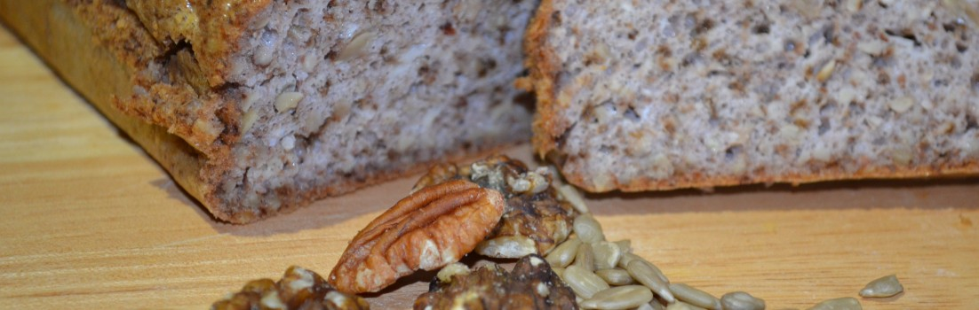 Health in a loaf: Nut and Seed Bread.