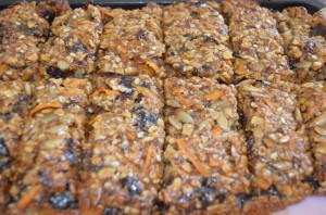 Dietitian UK: Homemade Healthy Cereal Bars